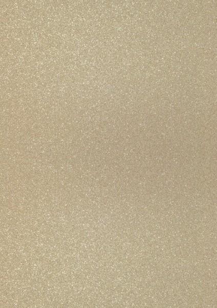 Heyda Glitterkarton A4 2118930190 hellgoldfarben