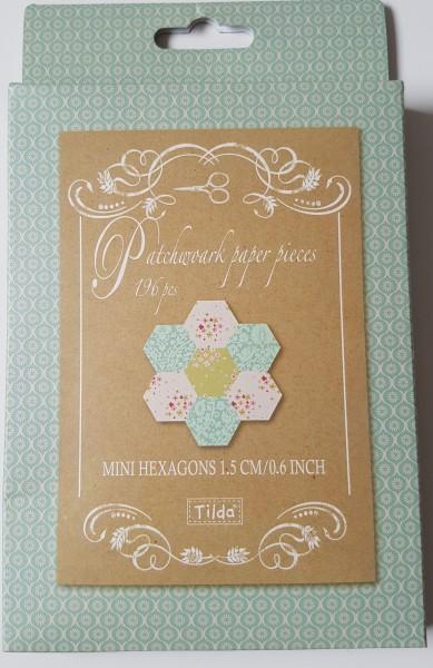 TILDA Patchwork paper pieces