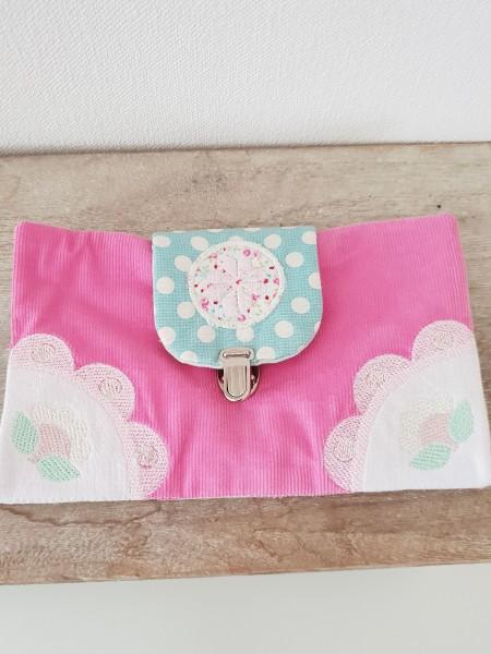 Tasche / Geldbörse mit Schnalle und Reißverschluss