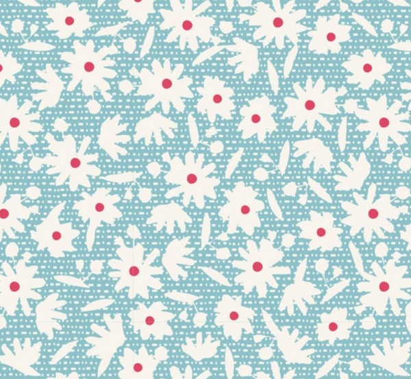 Tilda Bon Voyage Paperflower Teal