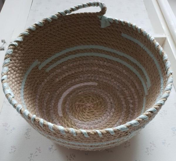 Rope Bowl / Korb braun
