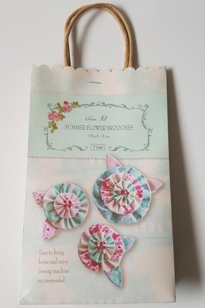 TILDA Summer Flower Brooches