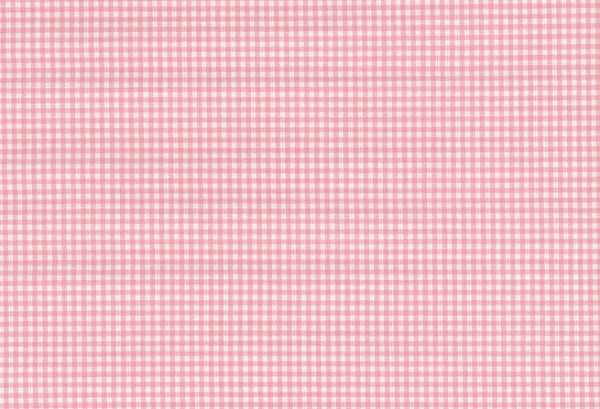 W908600 - Webstoff Oxford rose-weiß Vichy-Karo