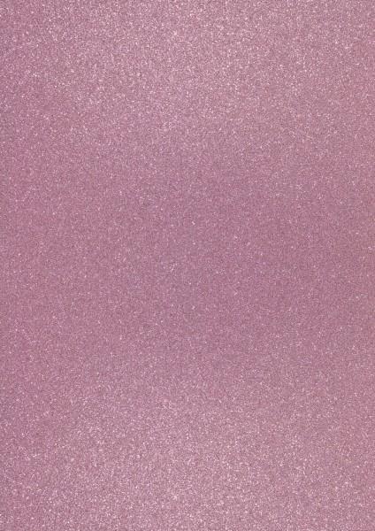 Heyda Glitterkarton A4 2118930380 hellrosa
