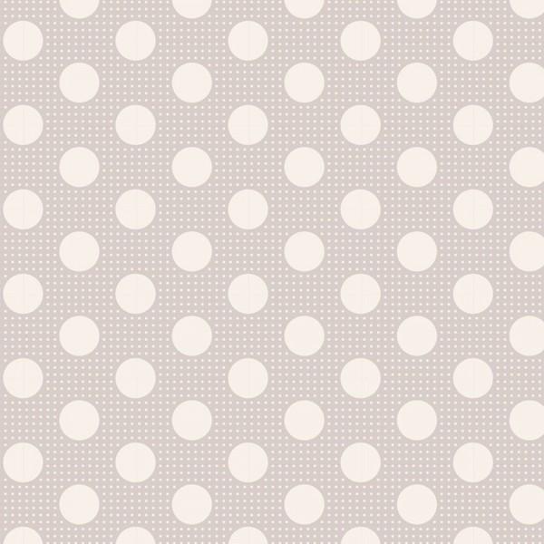 TILDA Medium Dots Light Grey