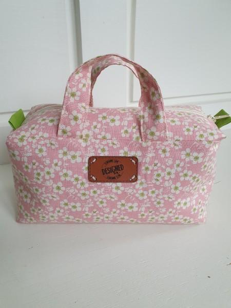 Kosmetik Köfferchen Gänseblümchen