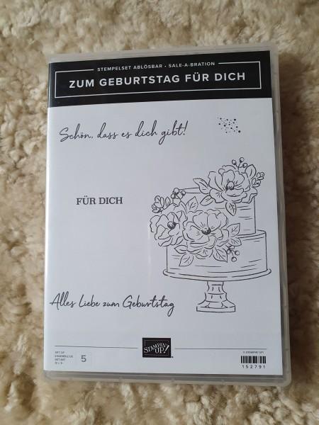 """Stampin' Up! Stempelset """"Zum Geburtstag für Dich"""""""