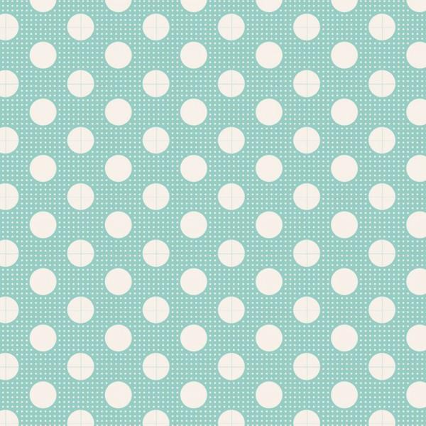 TILDA Medium Dots Teal
